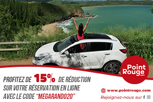 Offre point Rouge Shell Pacific MEGArando